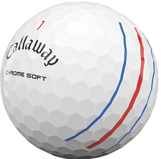 Callaway Chrome Soft Ball- Triple Track Marking
