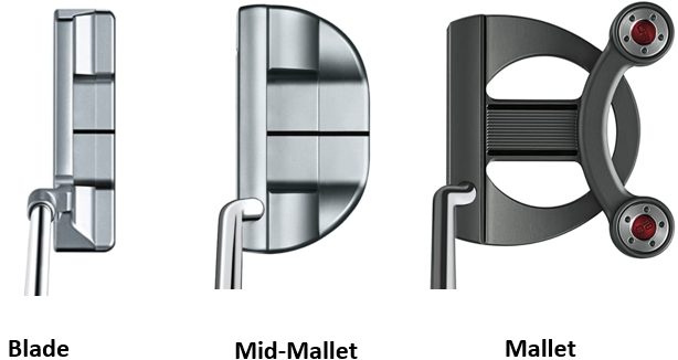 How to choose a putter, types of putter heads